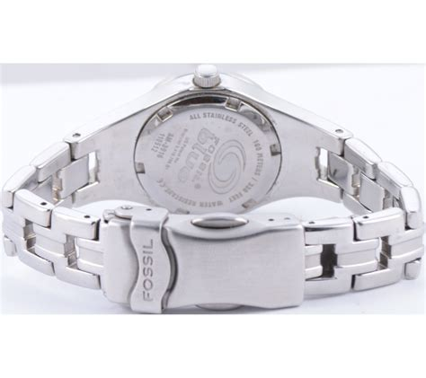 Jam Tangan Wanita Fashion White Silver Chanel 1 fossil silver and white