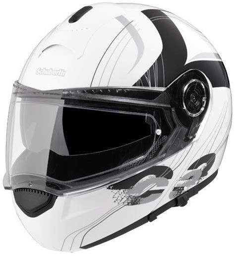Helm Schuberth C3 Pro Modular White Size M L T0310 1 schuberth c3 decor stripes white buy cheap fc moto