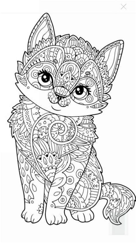 kitten coloring pages for adults the exotic jungle looks and wild ocelot cat adult