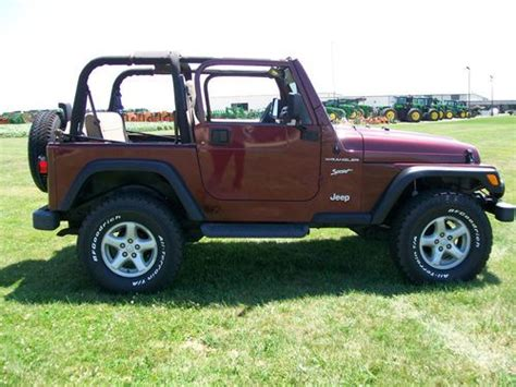 Jeep Wrangler 6 Inch Lift Sell Used 2002 Jeep Wrangler Sport 4x4 New Tires 2 Inch