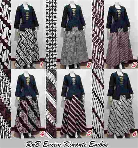 Baju Batik Dengan Rok model pakaian batik setelan rok panjang busana baju