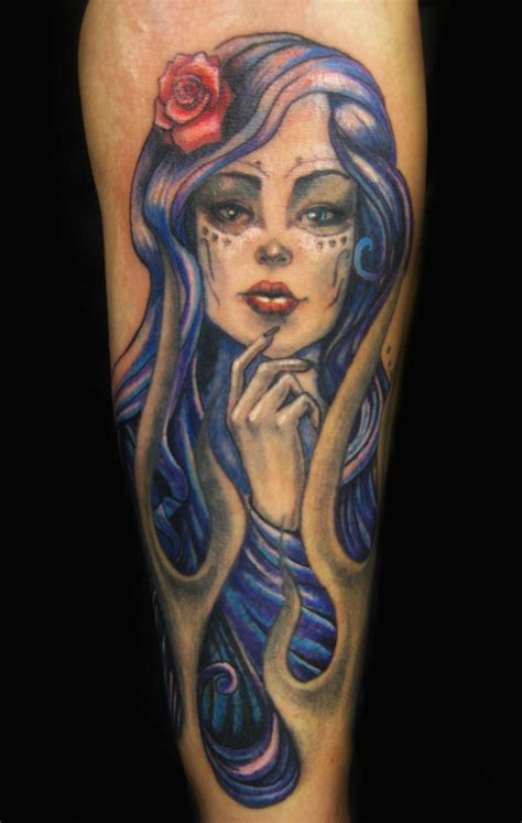 day of the dead girl tattoos day of the dead tattoos designs ideas and meaning