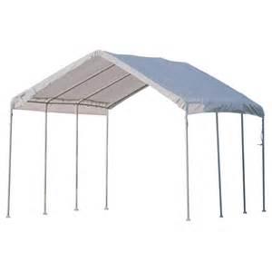 canopy garage shelterlogic portable garage canopy carport 10 x 20