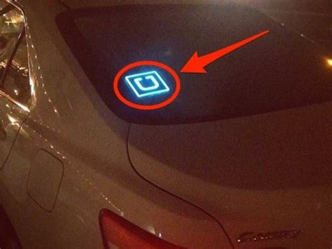 cheap light up signs uber has created a thriving black market for u