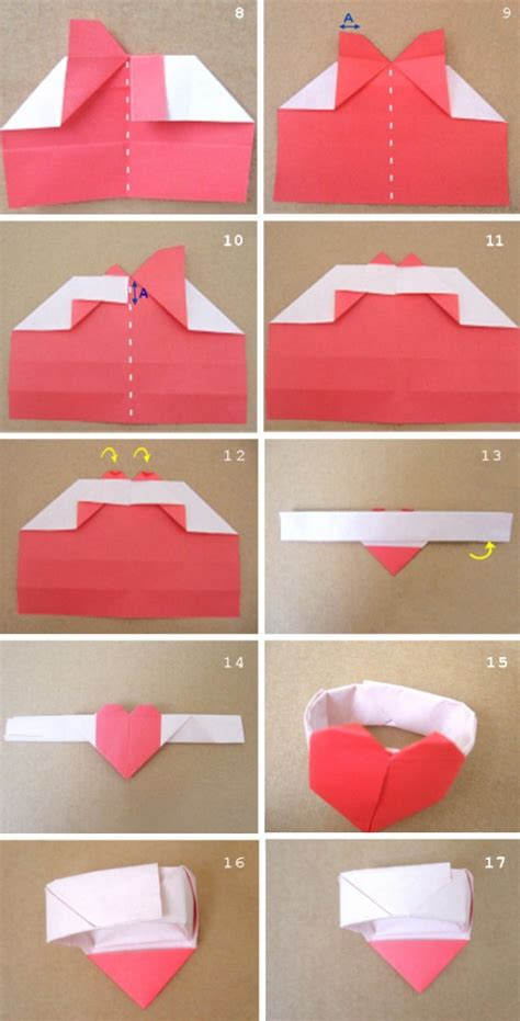 Easy Origami Ring - the a blast origami letters and rings