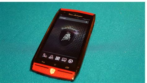 Lamborghini Phone Price 6 000 Tonino Lamborghini Mobile Smartphone Unveiled At Ces