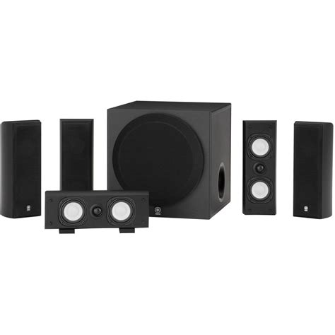 yamaha ns sp3800 home theater 5 1 channel speaker ns sp3800bl