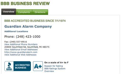 guardian alarm company reviews real customer reviews