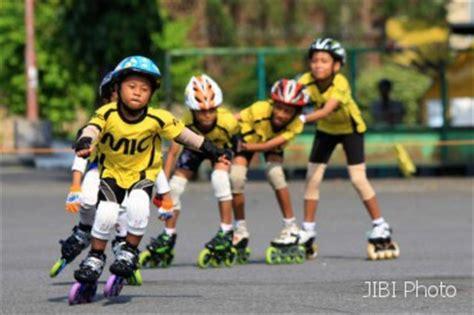 Sepatu Roda Junior regenerasi atlet sepatu roda feature 187 harian jogja