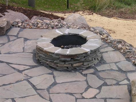 Outdoor How To Build A Fire Pit Patio Design How To How To Build A Backyard Firepit