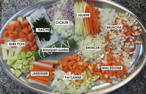 corte en sifflet preparaciones i los cortes de las verduras