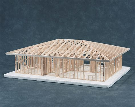 Building A Hip Roof Hip Roof House Framing Kit Cat 83 541001c 169 00