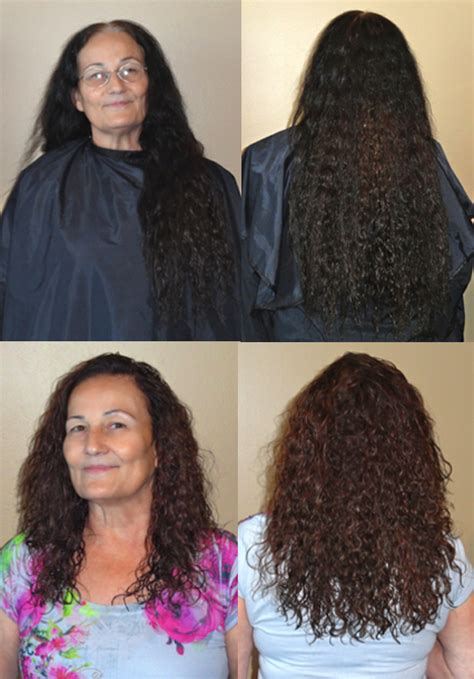 thinned out curly hair keratin treatment before and after curly hair www imgkid
