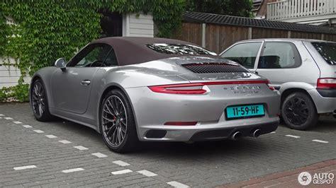 Porsche 991 Cabrio 4s by Porsche 991 4s Cabriolet Mkii 12 July 2016