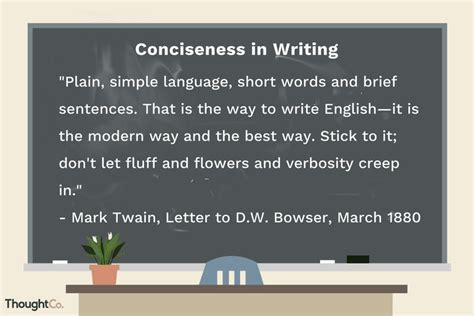 definition and exles of conciseness in writing
