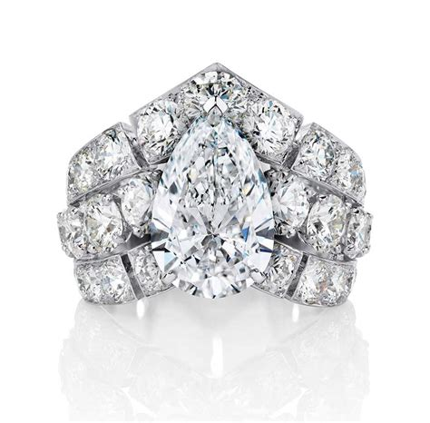big engagement rings the sky s the limit with these