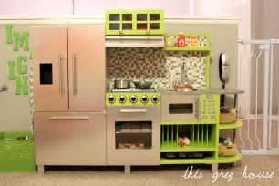 diy play kitchen ideas diy play kitchen this grey house
