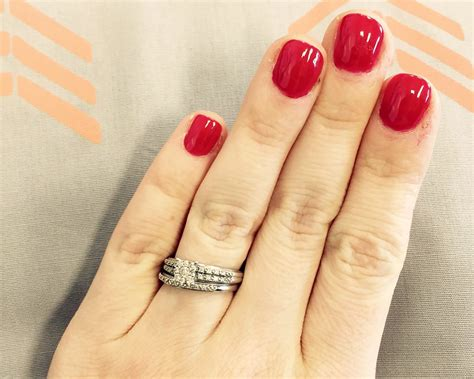 married woman refuses engagement ring upgrade in viral post