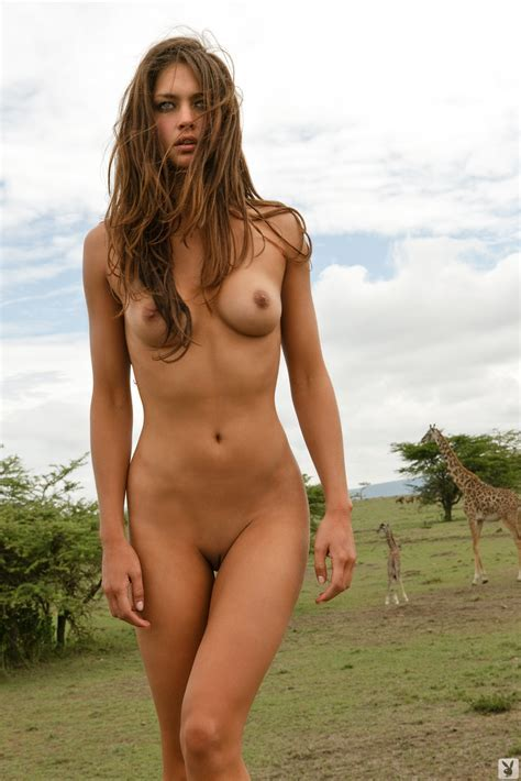 Playboy Supermodel Candice Boucher In Africa