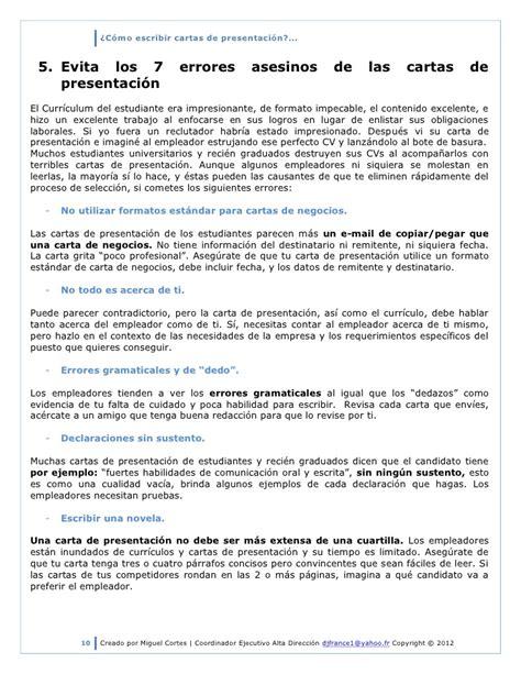 Modelo Carta De Presentacion Curriculum Ingles C 243 Mo Escribir Cartas De Presentaci 243 N 2012