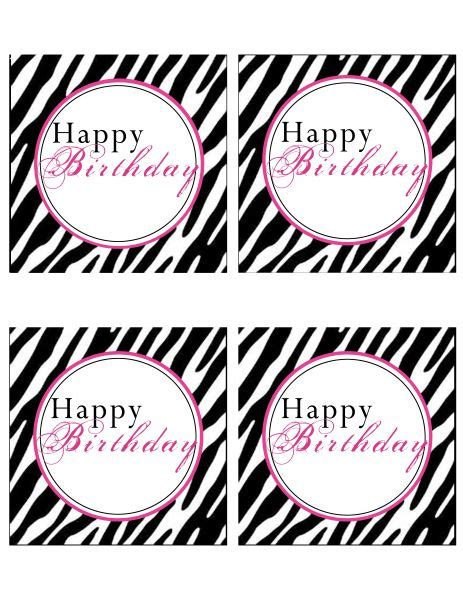 free printable birthday cards zebra print 17 best images about printables on pinterest best