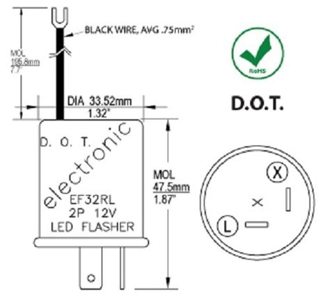 Wiper Blade Bosch Advantage 12 Inchi 30cm Model Frame cec industries ef32rl electronic turn signal flasher relay led compatible 2 ground wire