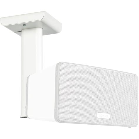 flexson ceiling mount for sonos play 3 white flxp3cm1011 b h