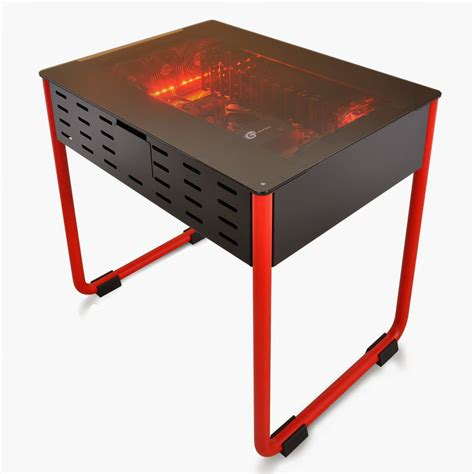 Lian Li Computer Desk Lian Li Pc Doubles As A Desk