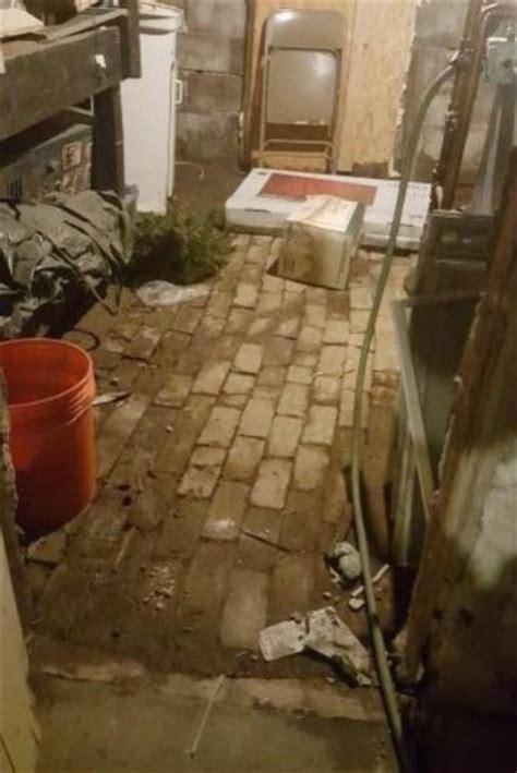 Brick basement floor   DoItYourself.com Community Forums
