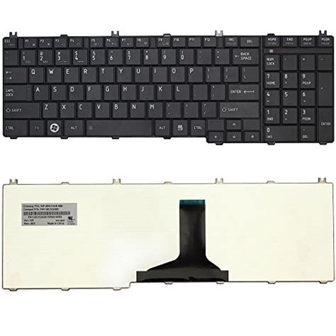 Keyboard Toshiba C660 C665 C650 C655 C660 C655d L650 L655 L670 L 1 lotfancy laptop keyboard for toshiba satellite c650 c650d