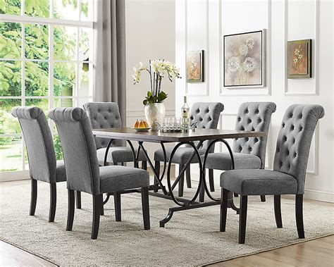 brassex  soho  piece dining set table  chairs