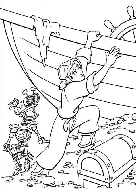 coloring page treasure planet coloring pages 5