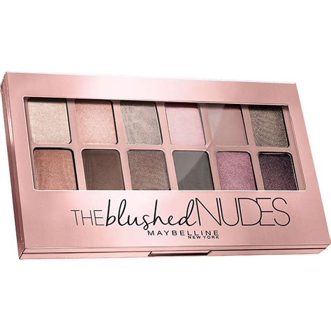 Maybelline The Blushed Palette maybelline the blushed eyeshadow palette blushed