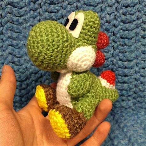 Pattern For Yarn Yoshi | yoshi crochet by sirpurlgrey on deviantart