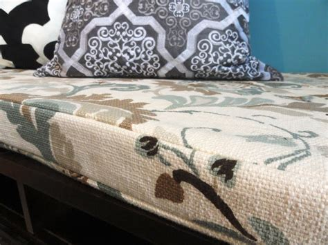 no sew removable bench cushion cover diy bench cushion removable mud room