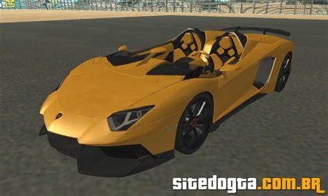 Gta San Andreas Ps2 Cheats Lamborghini Lamborghini Aventador J Tt Black Revel Para Gta San