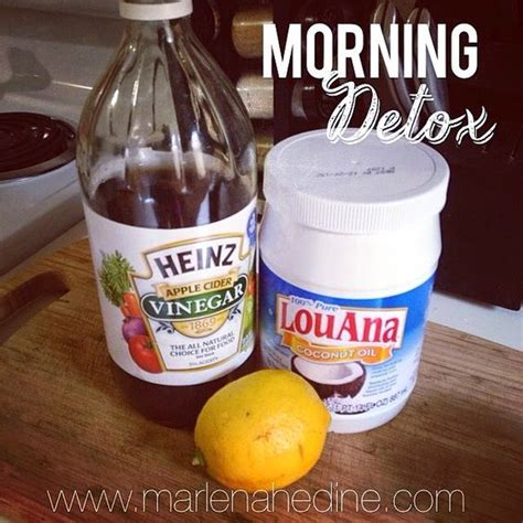 Morning Detox Tea Apple Cider Vinegar by Morning Detox Drink Warm Lemon Water Benefits Cleanse