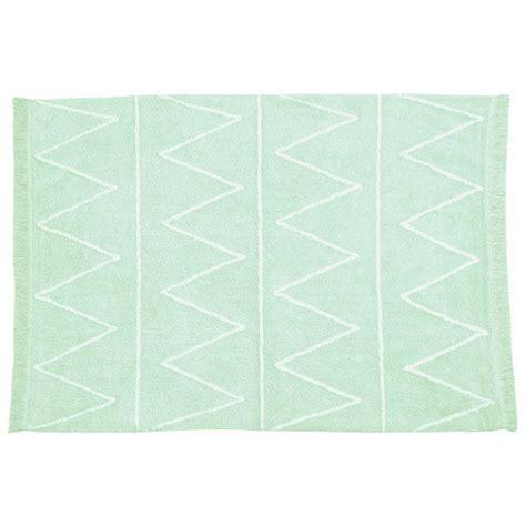 canals waschbarer teppich hippie mint 120x160cm - Teppich Mintgrün