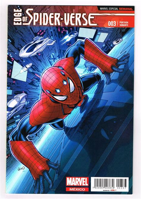 libro spider verse edge of spider verse aaron aikman spiderman 003 televisa 65 00 en mercado libre