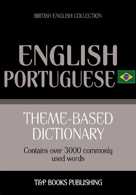 Theme-based dictionary British English-Brazilian