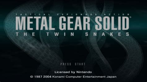 emuparadise metal gear solid metal gear solid the twin snakes usa ngc demoncube rar iso