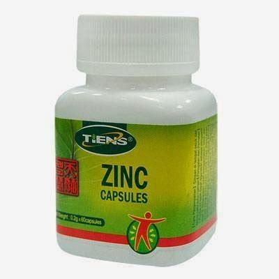 Sho Zinc Botol Harga peninggi badan cepat