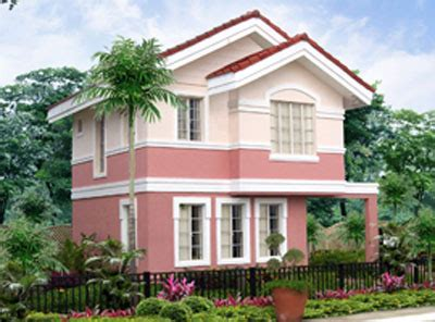 philippine model house design petunia model house of savannah trails iloilo by camella homes erecre group realty