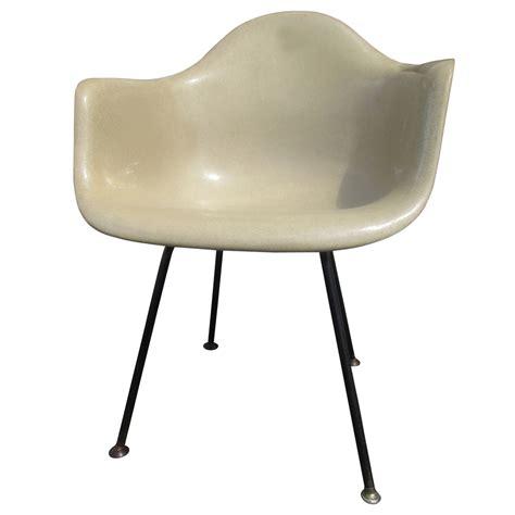 vintage mid century modern fiberglass shell chair eames  herman miller sale ebay