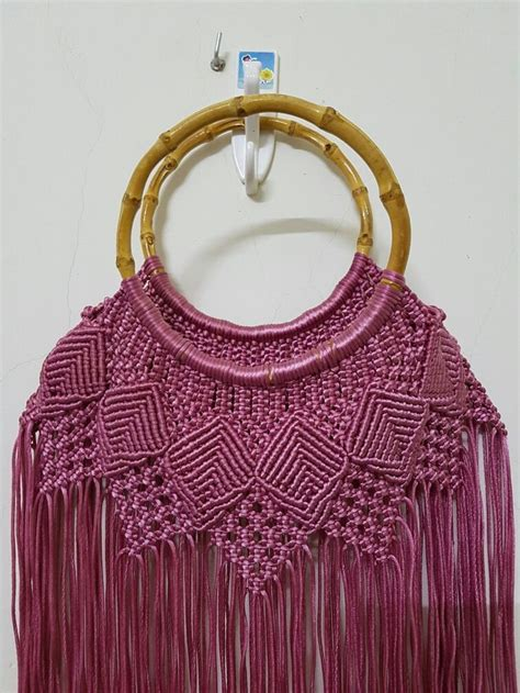 How To Make Macrame Purse - 1000 ideas about macrame bag on macrame