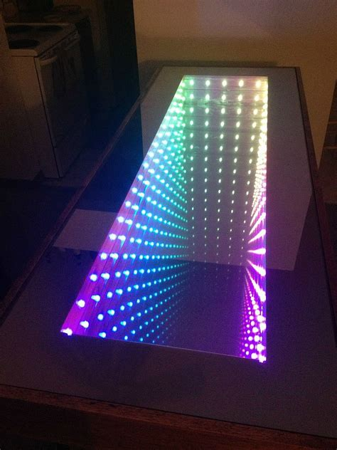 An Infinity Table No Way 18 Incredible Things You Never Diy Led Desk L