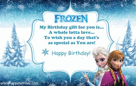 frozen printable greeting card happy birthday cards from frozen ago birthday