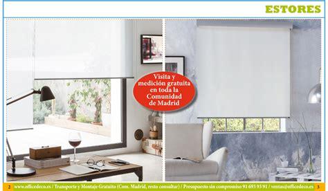 estores decoracion cortinas y estores de oficina muebles y sillas de oficina