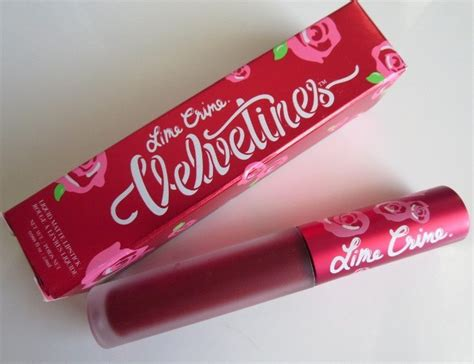 Velvetines Lime Crime lime crime velvetines liquid matte lipstick in review