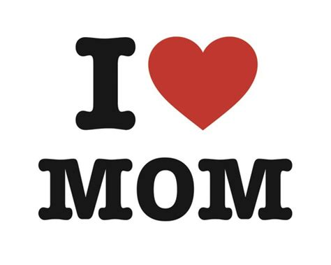 imagenes de i love you mom ansichtkaart i love mom kopen bij hornbach